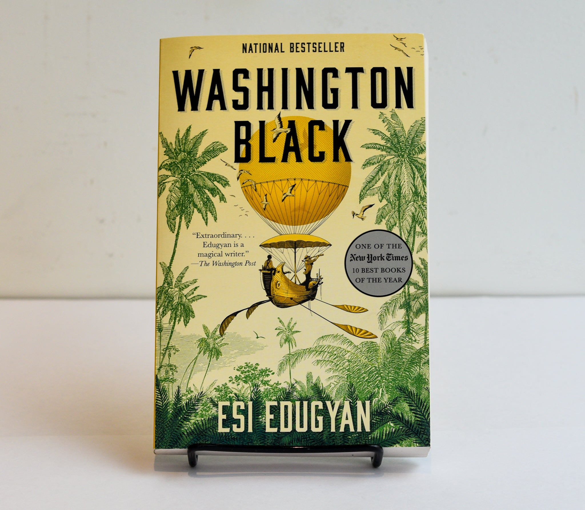 Washington Black by Esi Edugyan (YA)