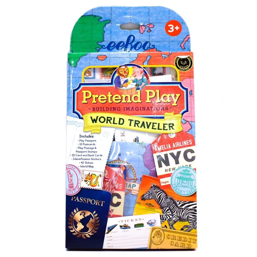 Pretend Play World Traveler