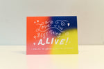 Love Is the Best Thing Alive Blank Card