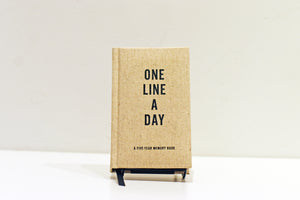 One Line a Day Notebook