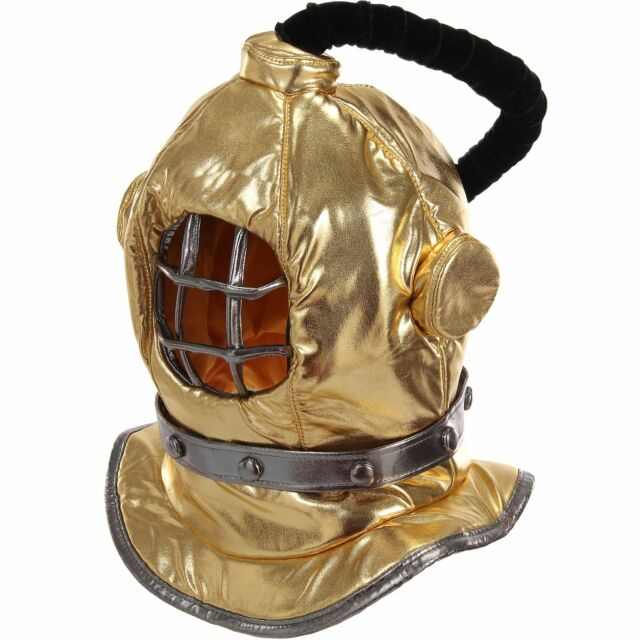 Golden Diving Bell Hat