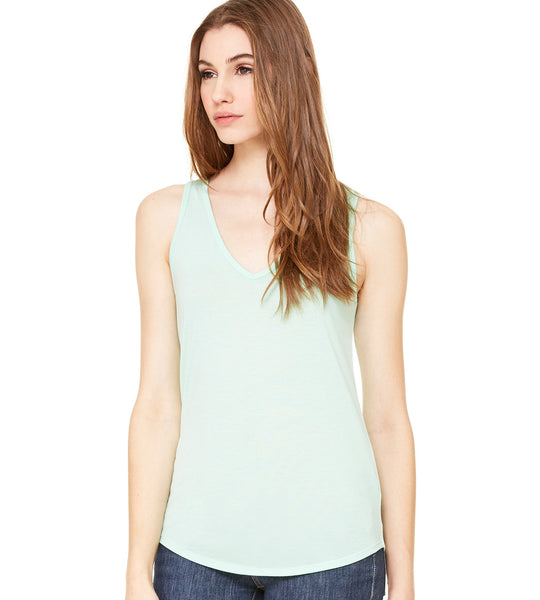 Flowy V Neck Tank - U GOT SPIRIT