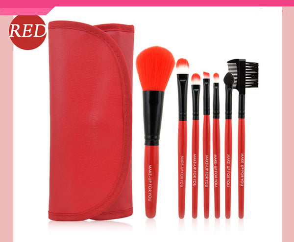 7pcs/kits Makeup Brushes Professional Set Cosmetics Brand Makeup Brush Tools Foundation Brush For Face Make Up Beauty Essentials