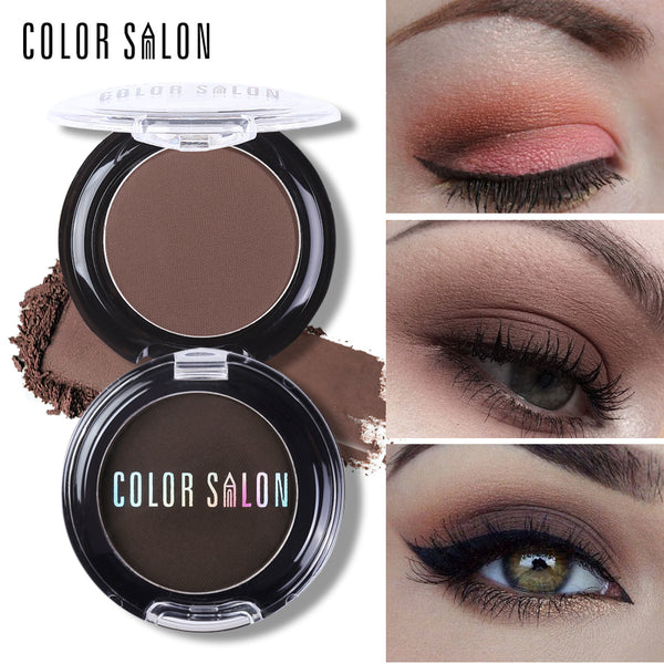 Color Salon Natural Matte Eyeshadow Palette 18 Colors Pigment Naked Eye Shadow Makeup Professional Brand Beauty Make Up Cosmetic