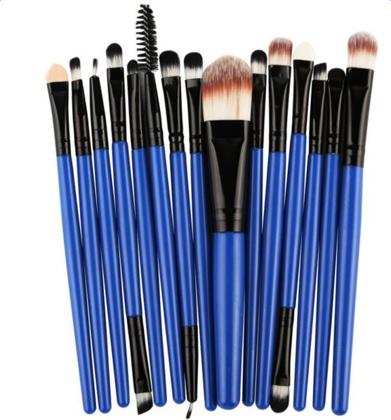 15pcs/6pcs Makeup Brushes Synthetic Make Up Brush Set Tools Kit Professional Cosmetics