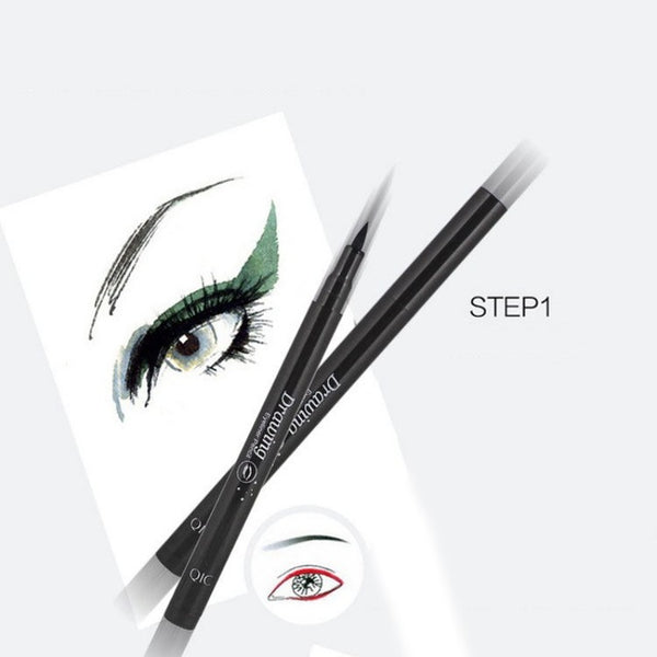 Black Waterproof Liquid Eyeliner Pencil Eye Liner Pen Make Up Eye Marker Lady Beauty Essentials Contour Cosmetics Free Ship