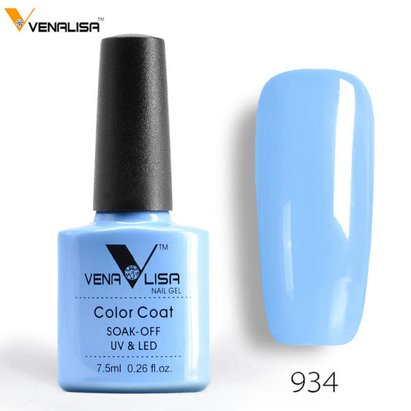 Free Shipping CANNI Gel Varnish Lacquer Nail Art DIY 60 Colors VENALISA Soak off Organic Odorless Enamels LED UV Nail Gel Polish