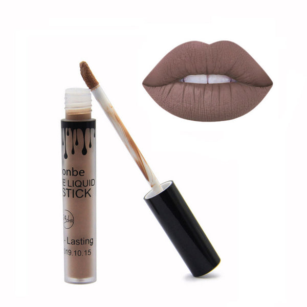 FOONBE Brand Lips Makeup Matte Lip Gloss Women maquiagem Mate Batom Make up Cosmetics Matt Liquid Lipstick maquillaje Lipgloss
