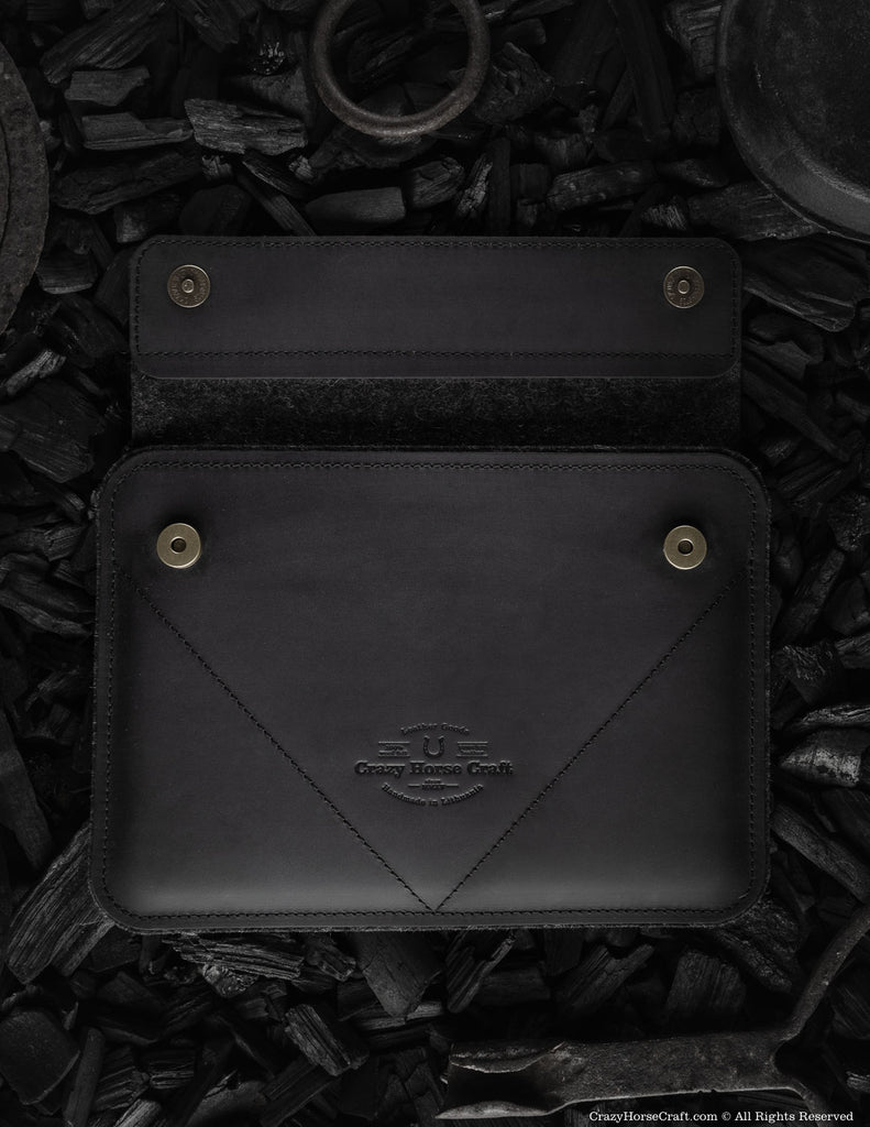 Leather iPad Pro/Air Case | Carbon Black