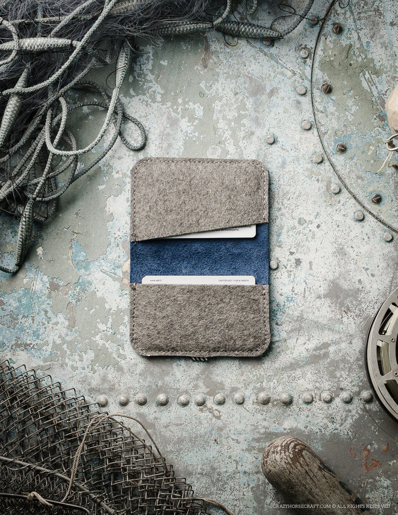 Leather Business & Credit Card Holder / Wallet | OceanBlue
