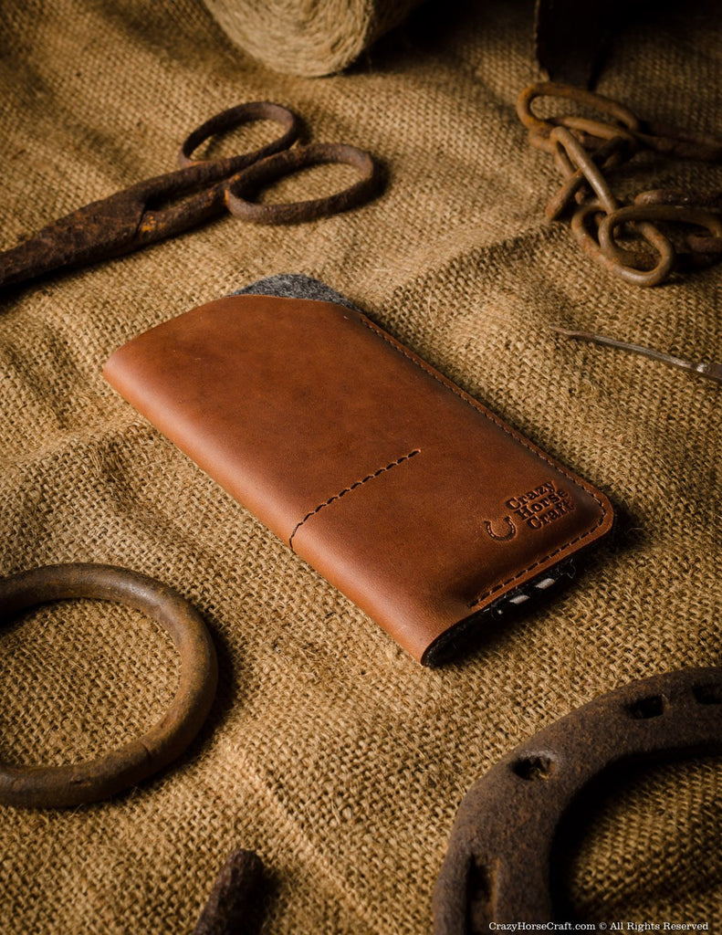 leather iphone case wallet with card pockets