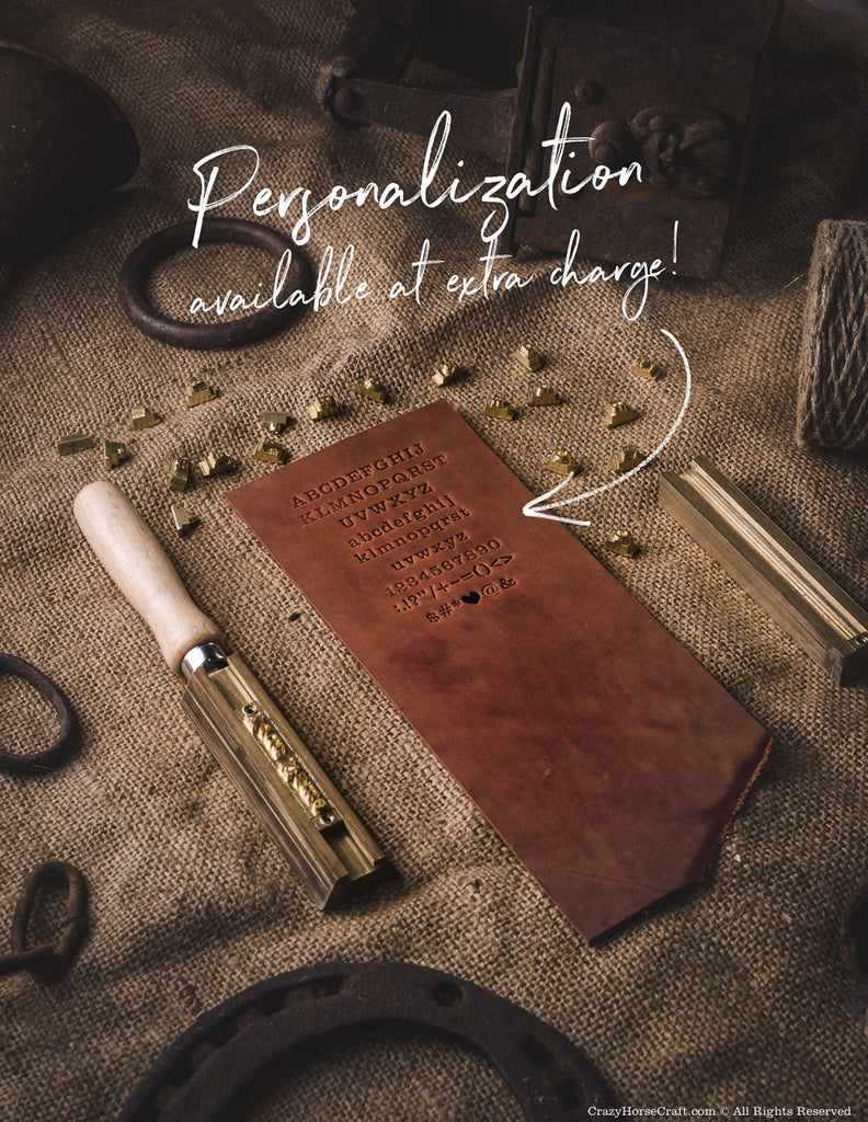 Leather personalization
