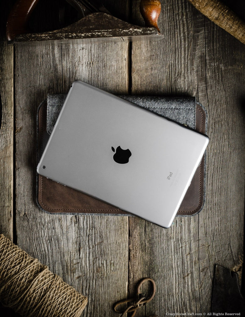 Leather iPad Air 2 Case and stand