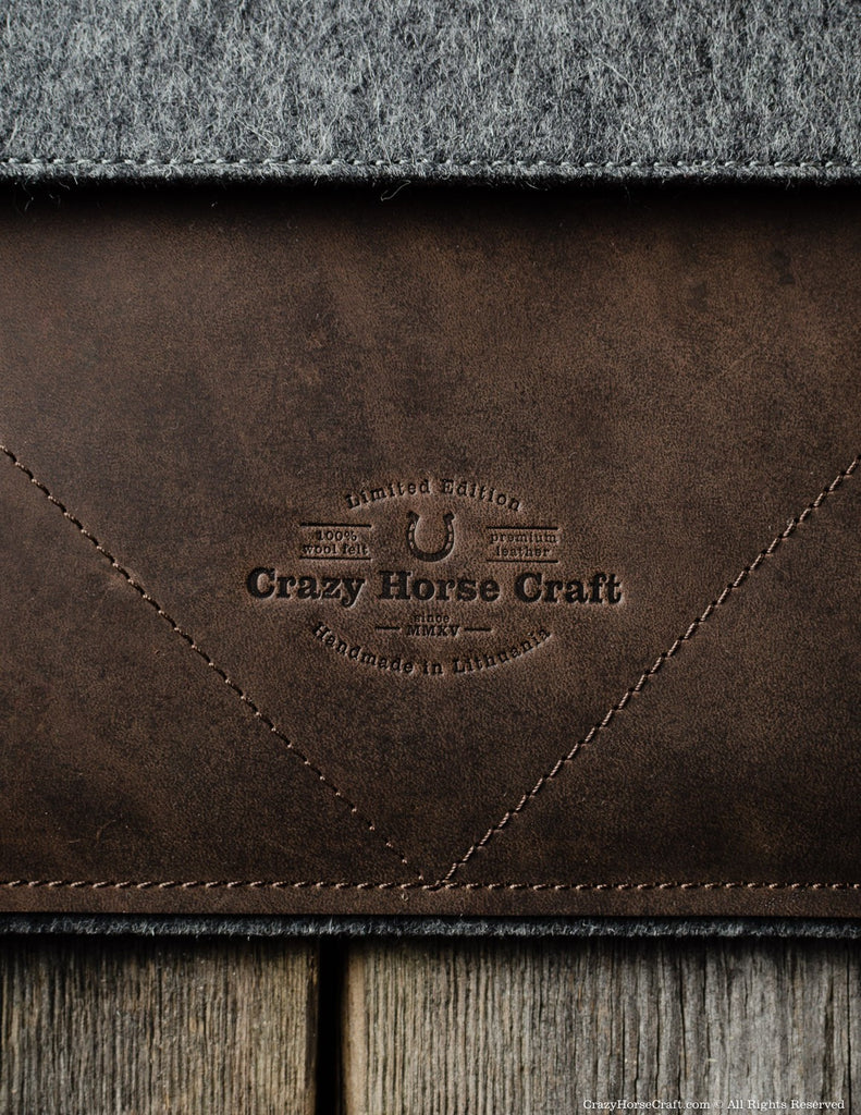 Crazy Horse leather ipad case