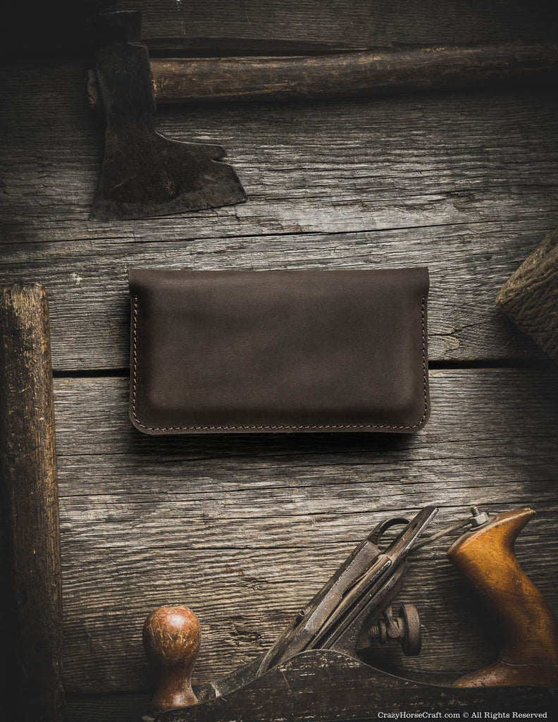 iPhone Xr sleeve, iPhone Xs case, wallet for 2 phones, two phones in one wallet, double iphone wallet, case for two phones, Leather iphone 8 plus double case card holder cash, brown back
