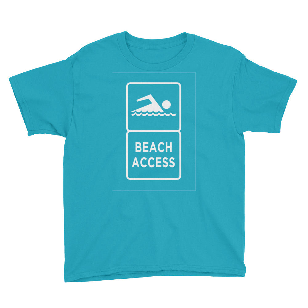 Beach Access Youth Tee - Stoak'd Cayman