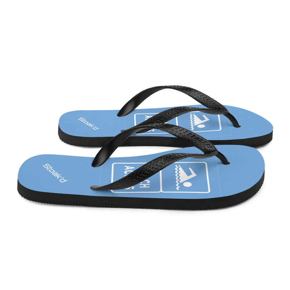 Beach Access Flip-Flops - Stoak'd Cayman