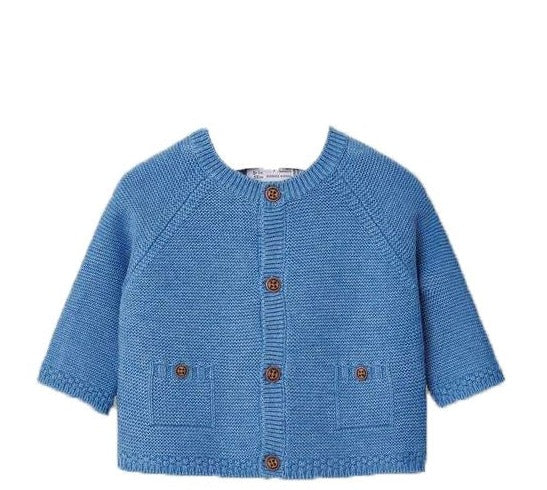 Basic Cardigan Blue
