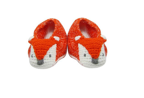 Crochet Fox Booties