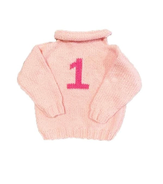 #1 Rollneck Sweater Pink