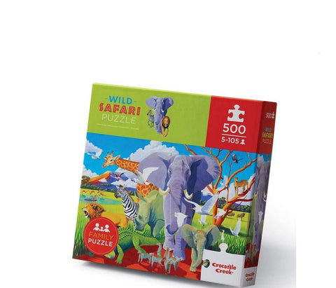 Safari Puzzle 500 Pc Age 5+