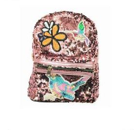 Sequin Backpack Pink