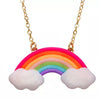 Rainbow and Cloud Necklace