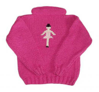 Ballerina Hand-Knit Sweater