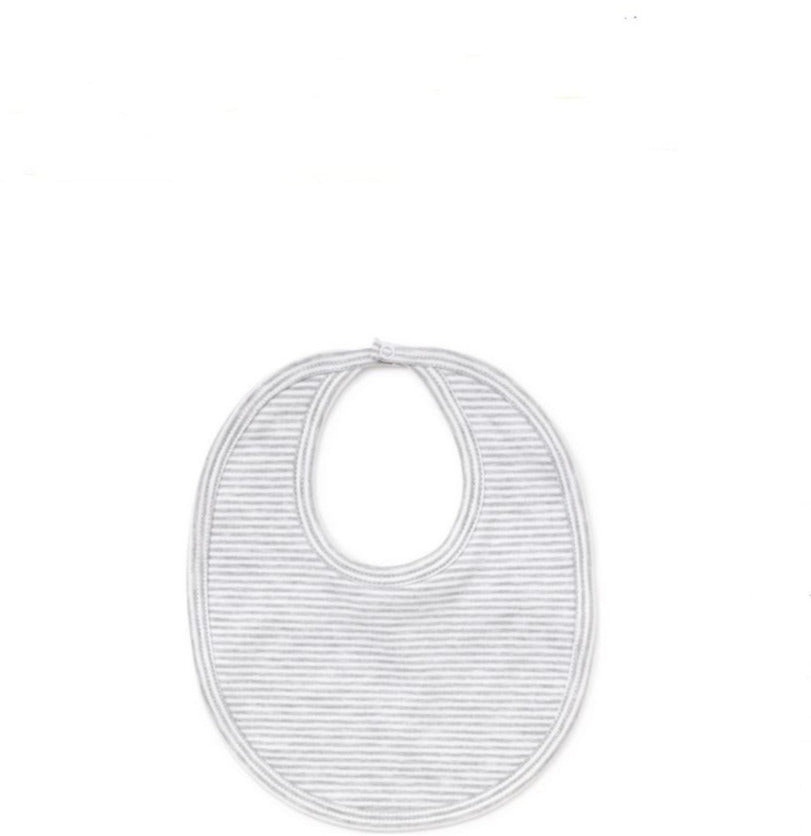 Grey Stripe Bib