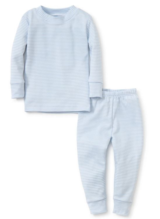 Blue Stripe P.J. Set