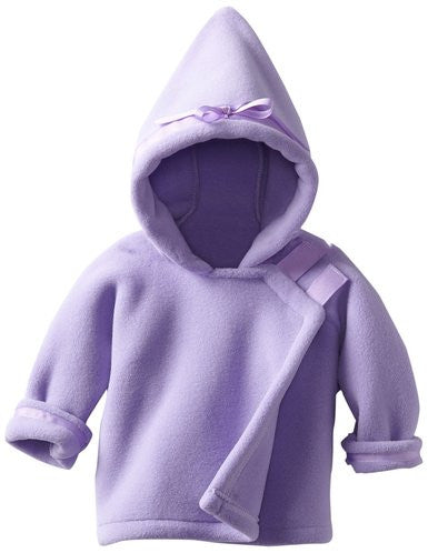 Lavender Fleece Jacket for Baby Babies