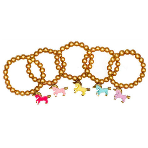 Golden Unicorn Bracelet
