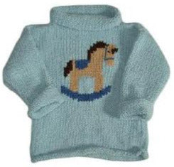 Rocking Horse Hand Knit Sweater