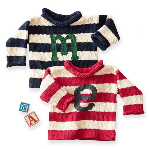 Personalized Sweater with Letter
