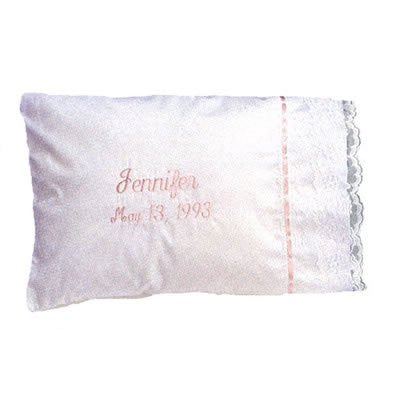 Keepsake Pillow with Monogram