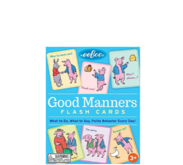 Good Manners Cards
