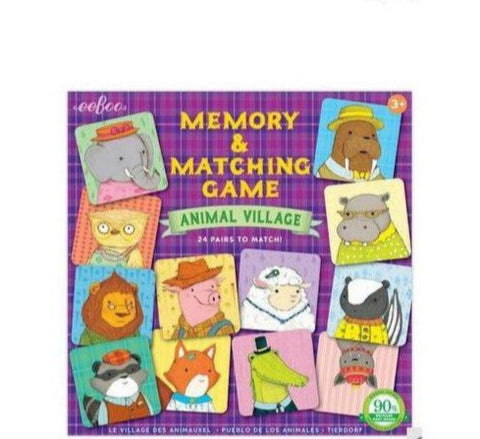 Memory Game - Animal Village