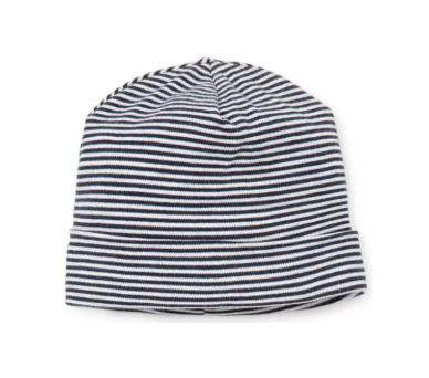 Stripe Cap Navy