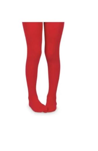 Microfiber Tights- Red