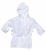 Terry Velpur Robe for Kids White