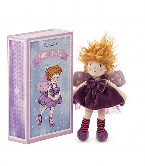 Tooth Fairy Girl Doll with Box