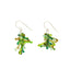 Handmade Glass jack earrings - assorted colors