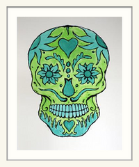 Bill Fick - Green Skull