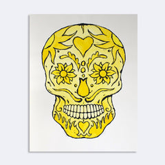 Bill Fick - Yellow Skull