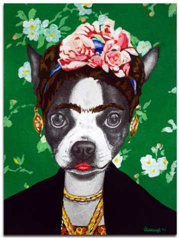 Courtney Kenny Porto - Frida - Watercolor Paper
