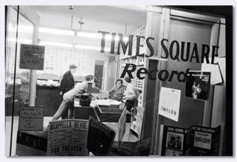 Jack Robinson - 1960's New York - Record Store
