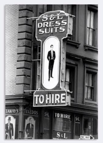 Jack Robinson - 1960's New York- Dress Suits