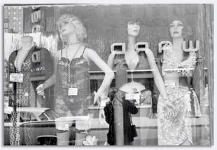 Jack Robinson - 1960's New York - Store Window