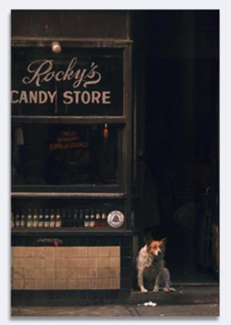 Jack Robinson - 1960's New York- Candy Store
