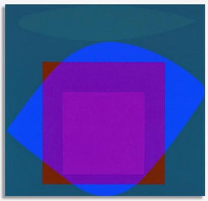 Jeffrey Rothstein - Untitled Purple Square